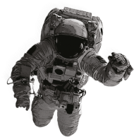 astronauta png real