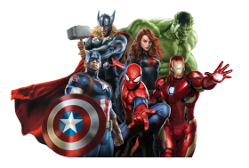 avengers Png cartoon