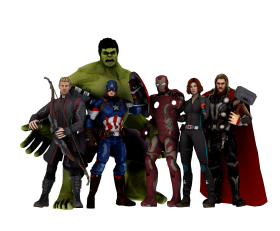 avengers png cartoon hd