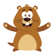 beaver groundhog day clipart png