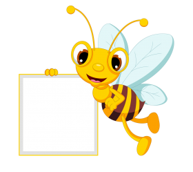 bee clipart png border