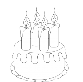 birthday cake png clipart