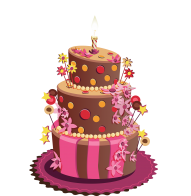 birthday cake vector png