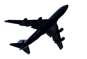 black airplane png clipart