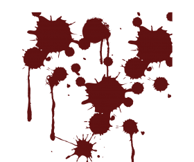 blood splatter png  clipart hd