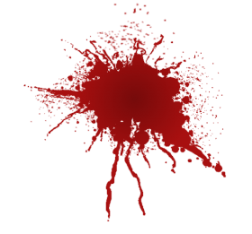 blood splatter png red