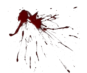 blood splatter png vector