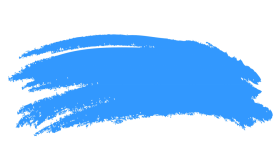 blue brush stroke png