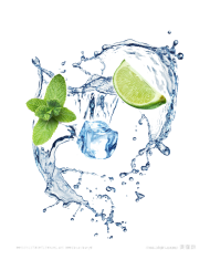 caipirinha png splash water