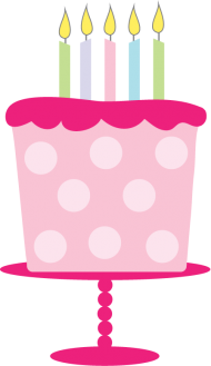 cake png pink cartoon clipart
