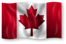 canada flag png clipart