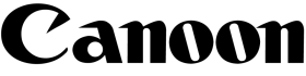 canon logo png black