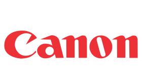 canon logo png red