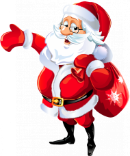 cartoon santa hat png clipart