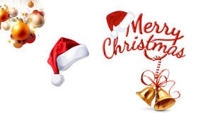 christmas clipart hat gift png