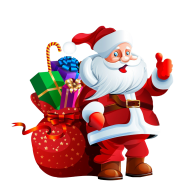 christmas png clipart 3D