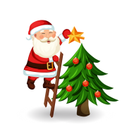 christmas tree png clipart hd