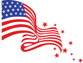 clipart flag united states png