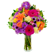 color bouquet flowers PNG image transparent
