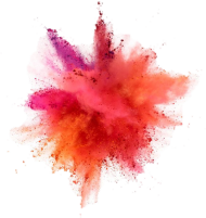 Color explosion png