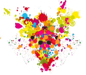 color explosion png hd clipart