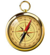 compass png gold