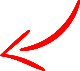 curve arrow red flecha png roja