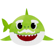 daddy baby shark png green