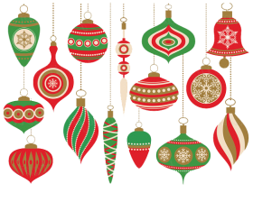 decor christmas clipart png