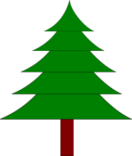 деревья trees png vector