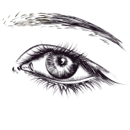 drawn eye png hd real