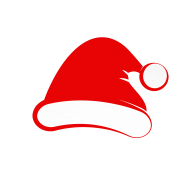 clipart santa hat cartoon png  papa noel