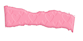 faxia rosa pink heart png
