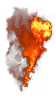 fire explosion png