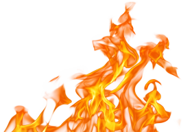 fire transparent background png
