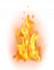 flame art fire png