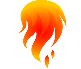 flame png vector hd