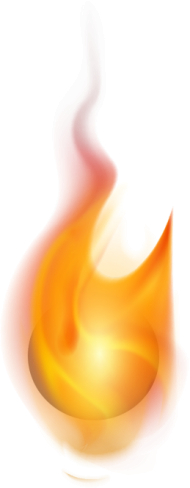 flames effect png