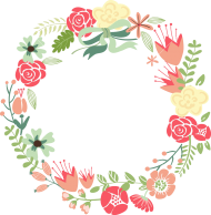 flower frame png hd