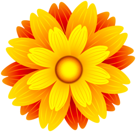 flower vector yellow png