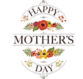 font Happy Mother's Day png