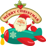 food christmas santa cartoon png