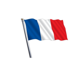 france flag png hd  clipart