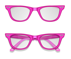glasses png pink