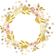 gold border png circle