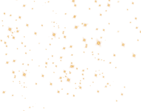 gold border png stars sky