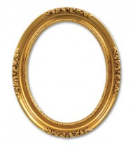 gold circle frame png