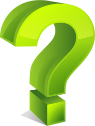 green question mark png