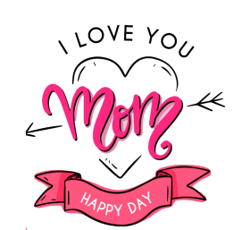 greeting design Happy Mothers day photo png