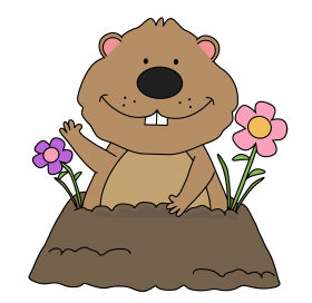groundhog day png cartoon